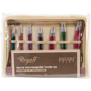 "Royale Deluxe Interchangeable Needle Set 16"" by Knitter's Pride"