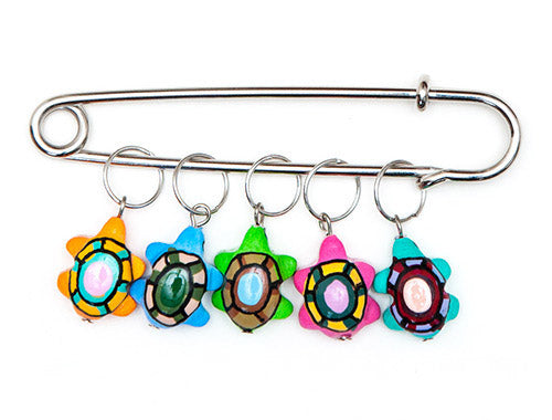 Turtle Charming Stitch Markers