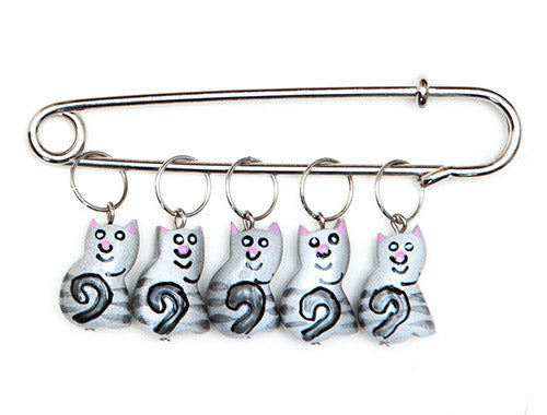 Kitty Charming Stitch Markers