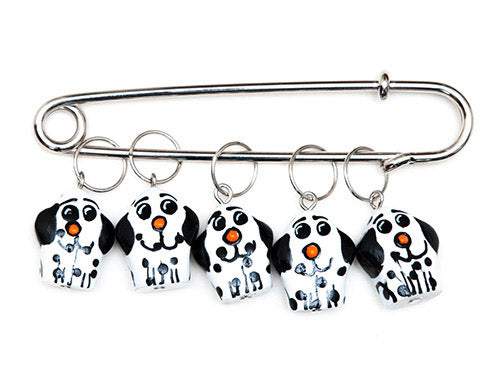 Puppy Charming Stitch Markers