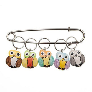 Owl Charming Stitch Markers