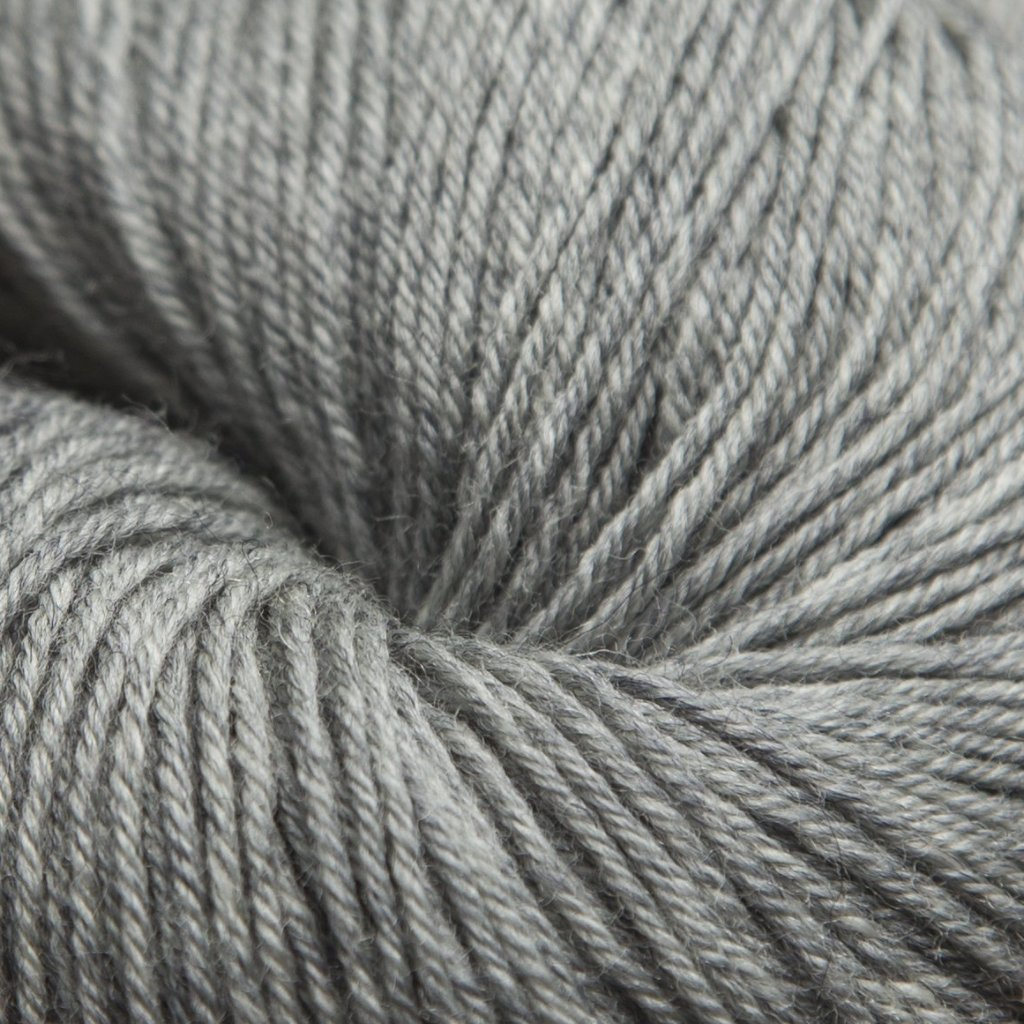 Mousam Falls Sock Yarn Fingering Weight Jagger Spun Lead Gray Grey