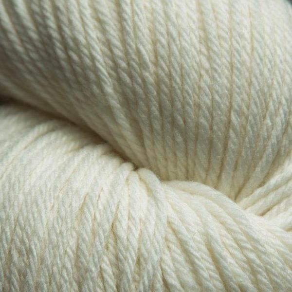 Jagger Spun Super Lamb 4/8 Yarn Snow White