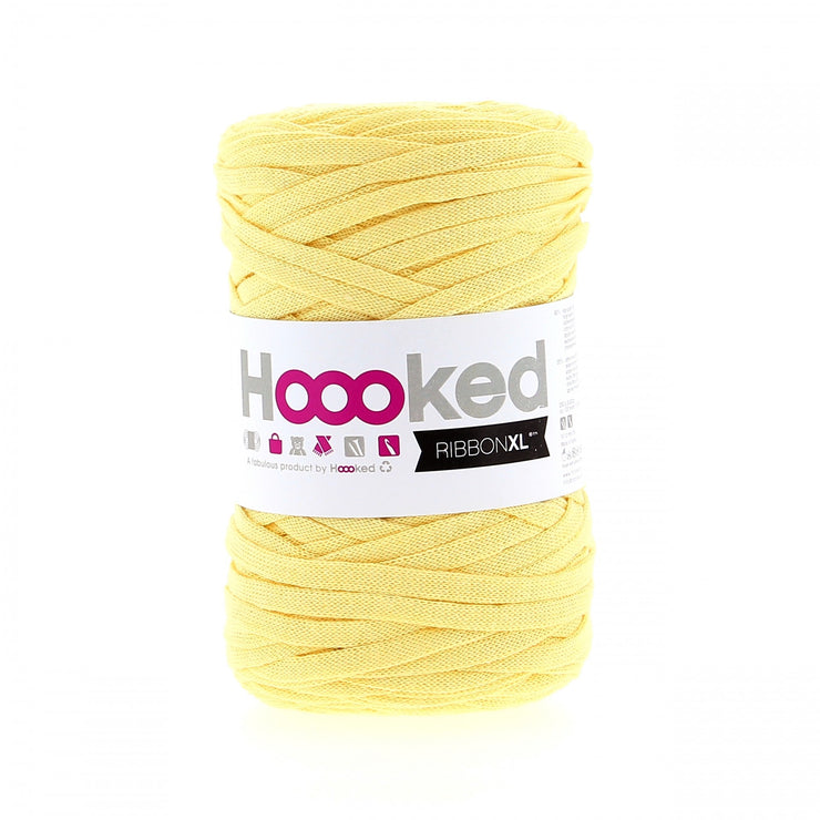 Hoooked Ribbon XL Yarn Frosted Yellow