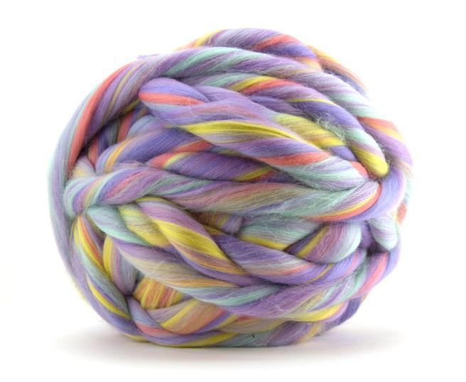 Merino Wool Roving by the Ounce - Unicorn Blend