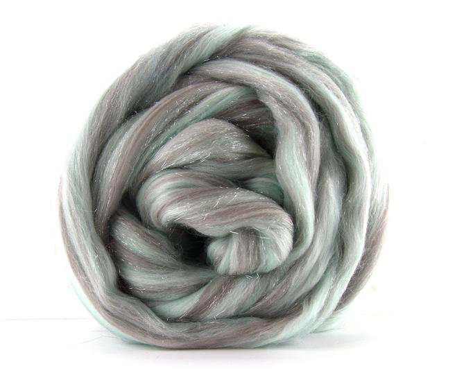 Merino Wool Sparkle Blend Roving by the Ounce - Happily Ever After
