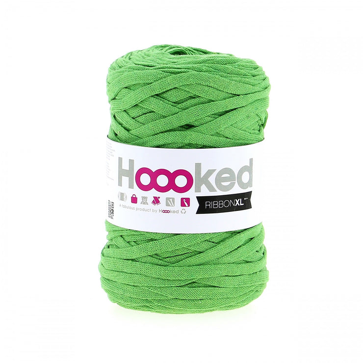 Hoooked Ribbon XL Yarn Salad Green