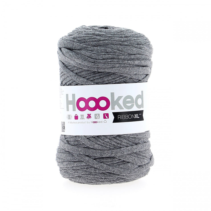 Hoooked Ribbon XL Yarn Stone Grey