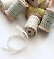"1/4"" Italian Cotton Ribbon Spool 5 yards by Studio Carta"