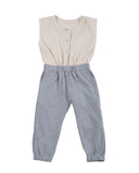 jumpsuit - grey melange
