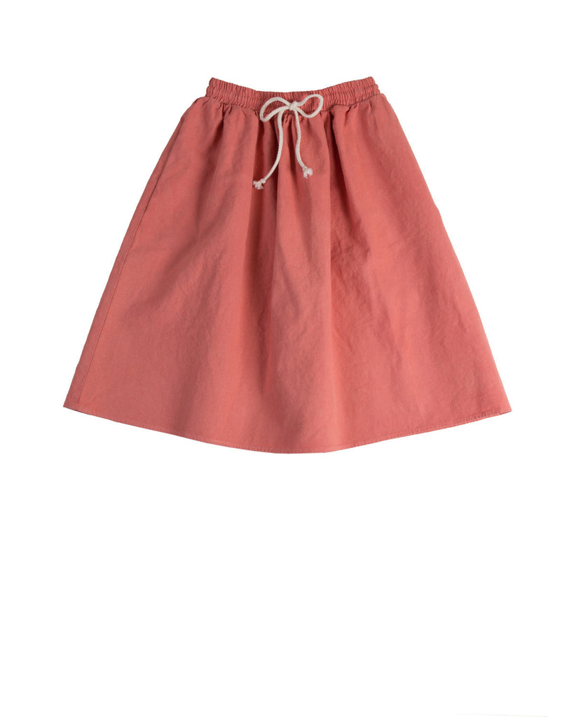 long prairie skirt - coral