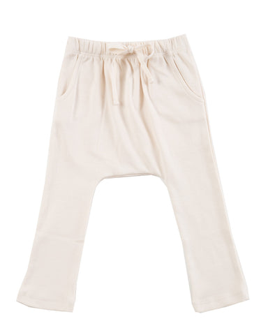harem pants with pockets - natural