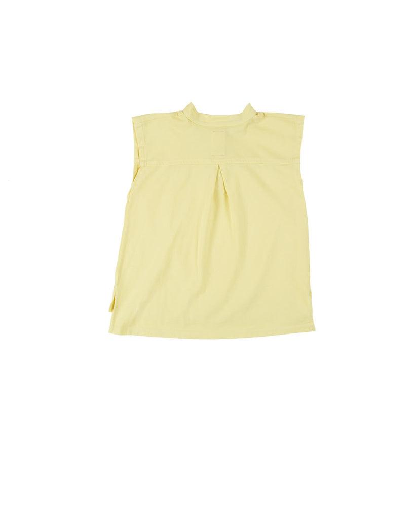 summer blouse - sun yellow