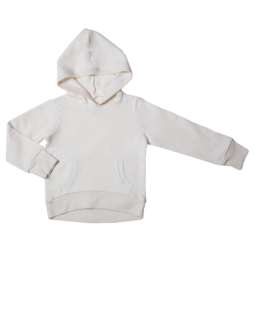hoodie with pockets - natural