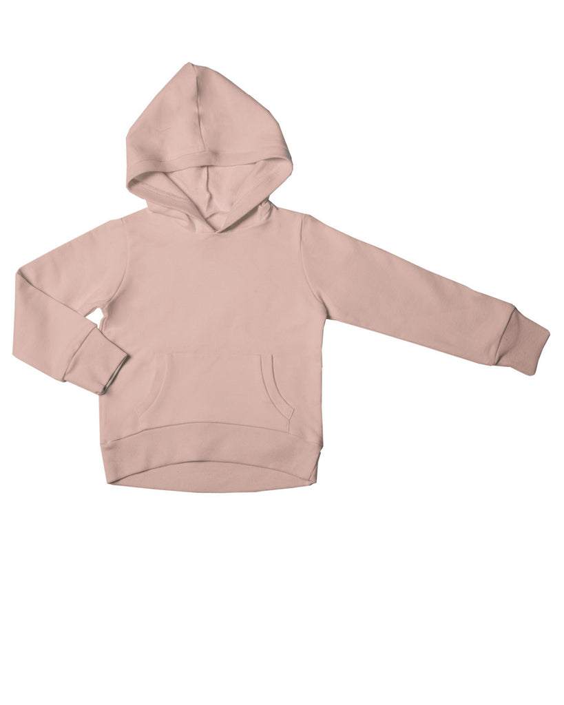 hoodie with pockets - camel rose