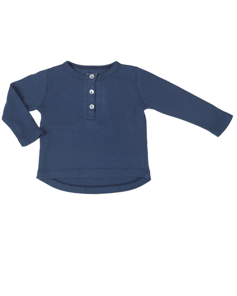 henley - navy blue