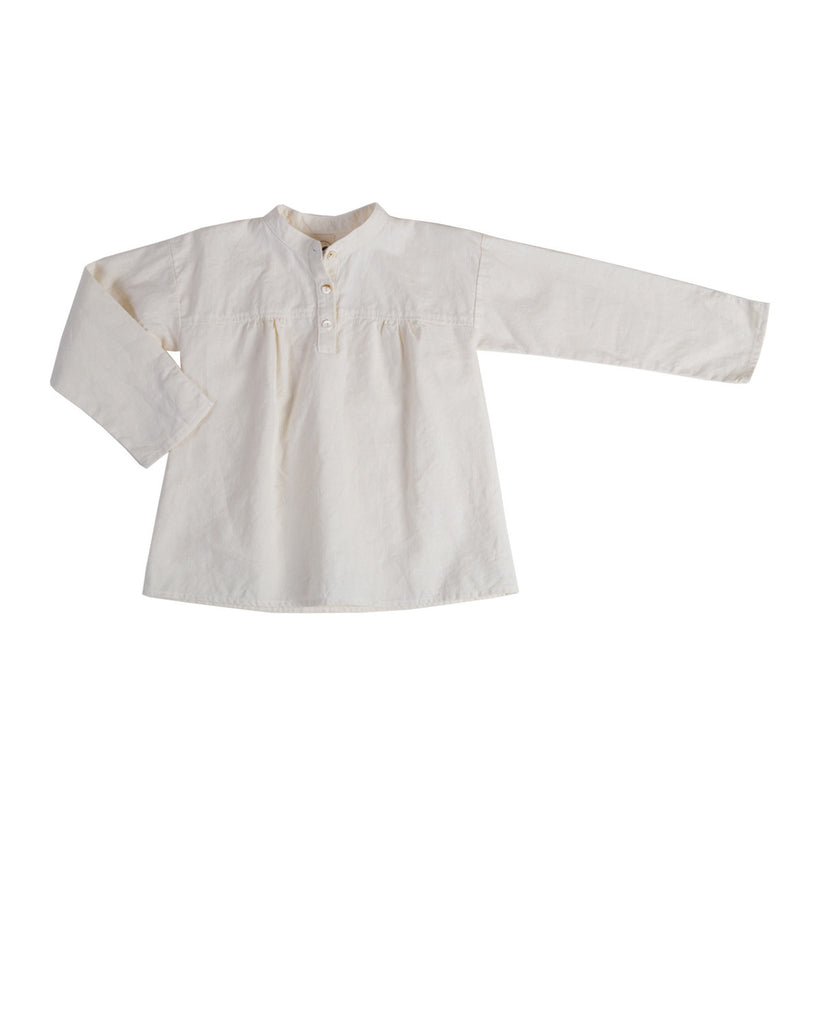long sleeve blouse - natural