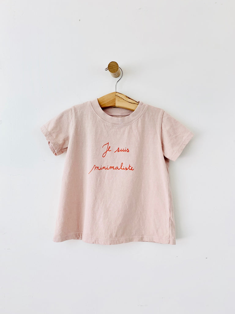 Basic T Shirt - Je Suis minimaliste / Canyon