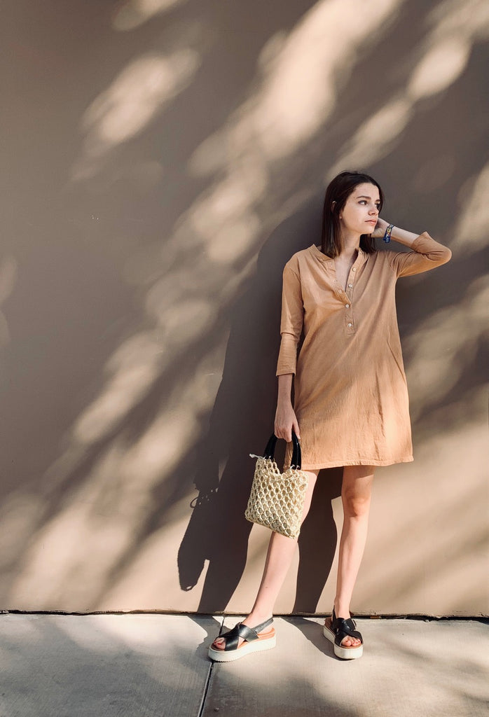 Women's Tulum Tunic in Camel