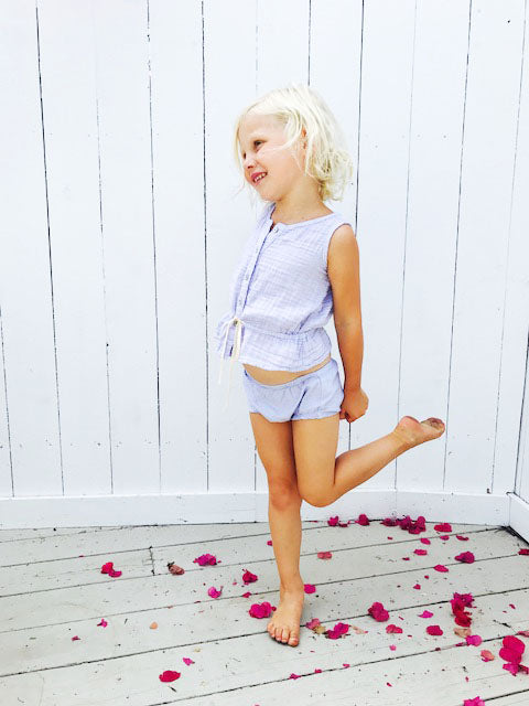 organic cotton bloomers - sand