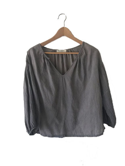 Women's Kos Shirt - Charcoal