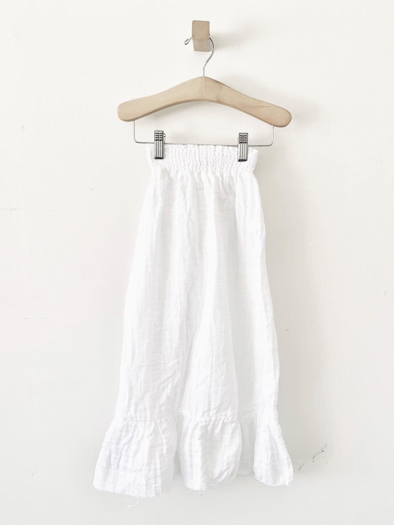 mallorca skirt - white