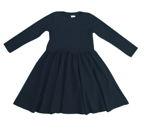 mulholland dress - black