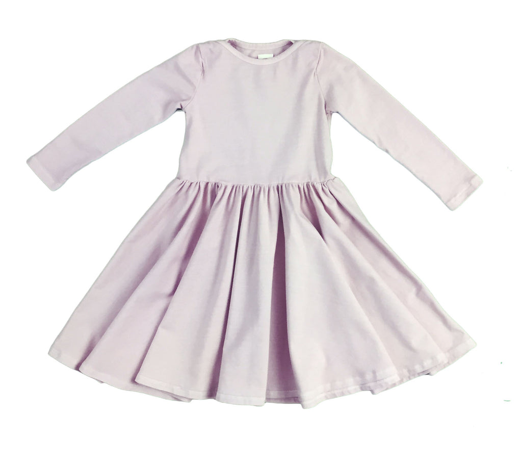 mulholland dress - lilac