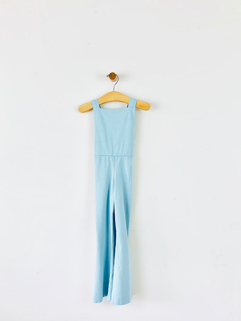 bell bottom overall - seafoam  /  sample sale