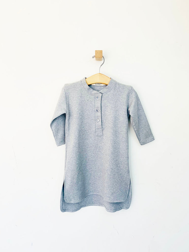 tunic - grey melange