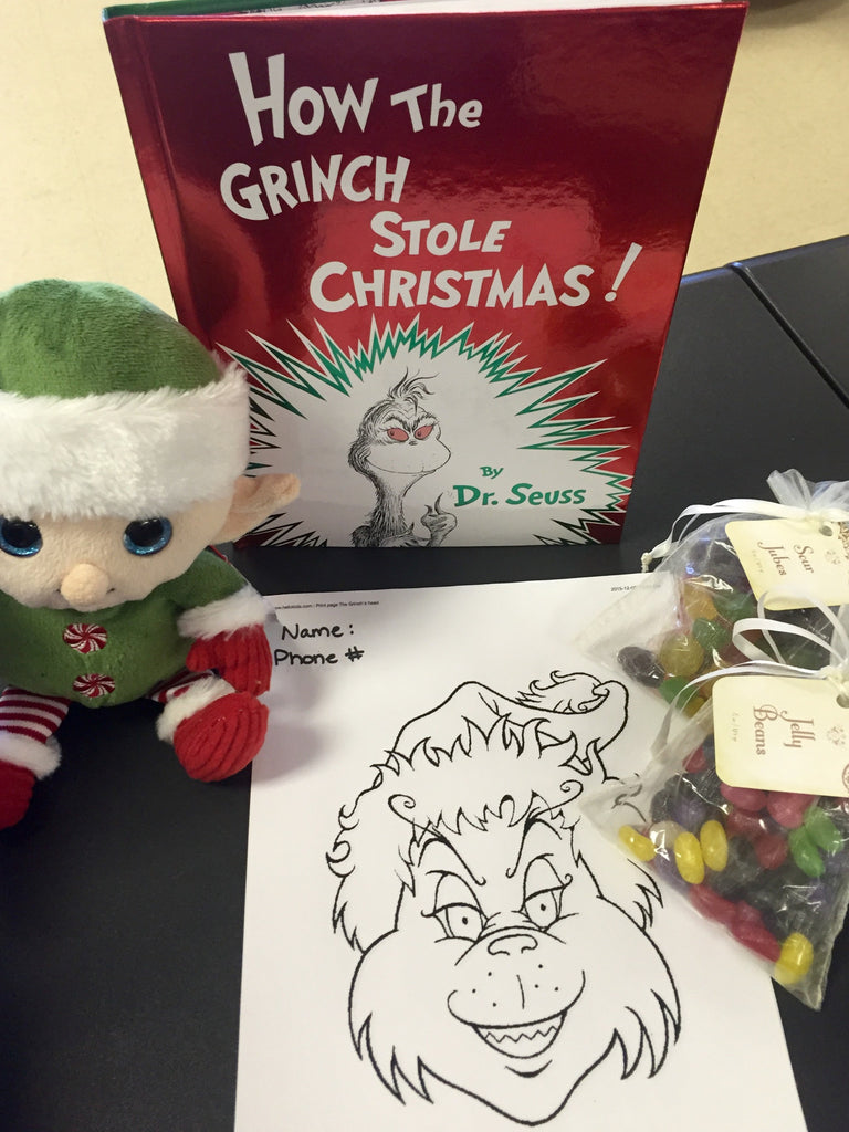 GRINCH COLORING CONTEST