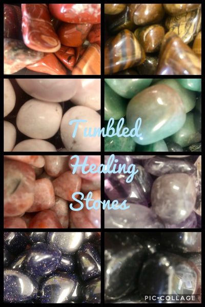 Tumbled healing stones 💫 Ss