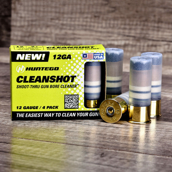 CleanShot® 12 Gauge Gun Bore Cleaner