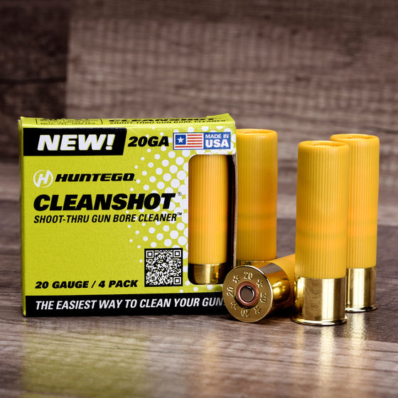 CleanShot® 20 Gauge Gun Bore Cleaner