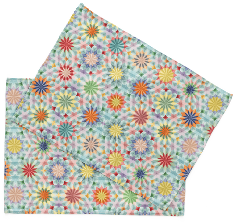 set of two placemats