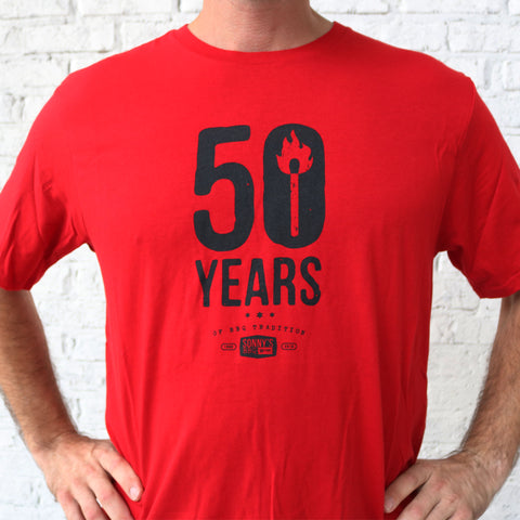 50 YEARS OF TRADITION T-SHIRT