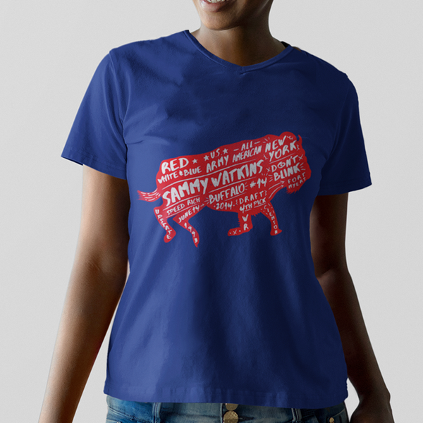 Sammy Watkins Women's Buffalo T-Shirt
