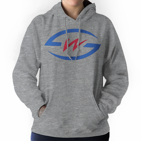 SW Football Initial Hooded Sweatshirt