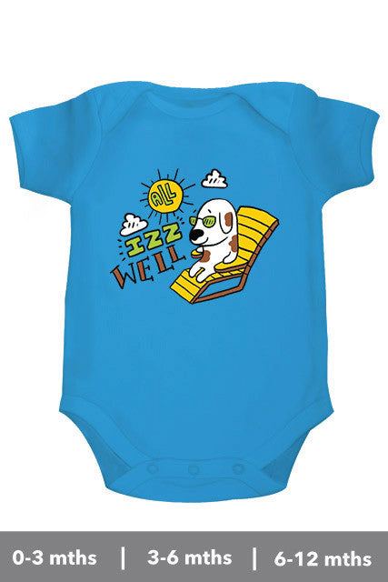 All is well Onesie inspired from Bollywood movie 3 Idiots Zeezeezoo