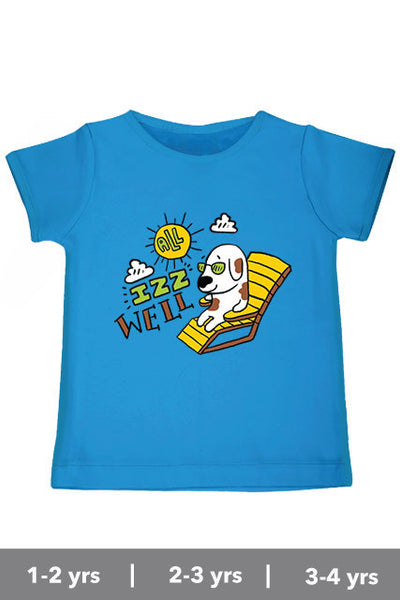 All is well T shirt for kids inspired from Bollywood movie 3 Idiots Zeezeezoo