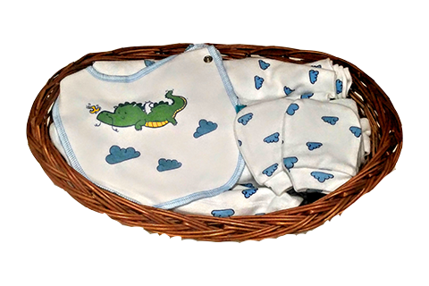 Dragon Ultimate Baby Essential Basket (7pc)