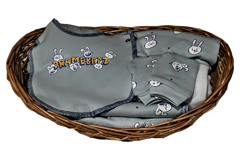 Dramebaaz Ultimate Baby Essential Basket (7pc)