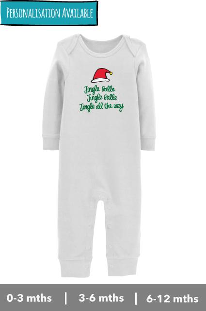 Jingle Balle Jingle Balle Jingle All The Way - Bodysuit