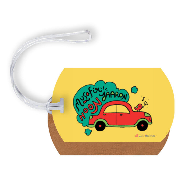Musafir Luggage Tag
