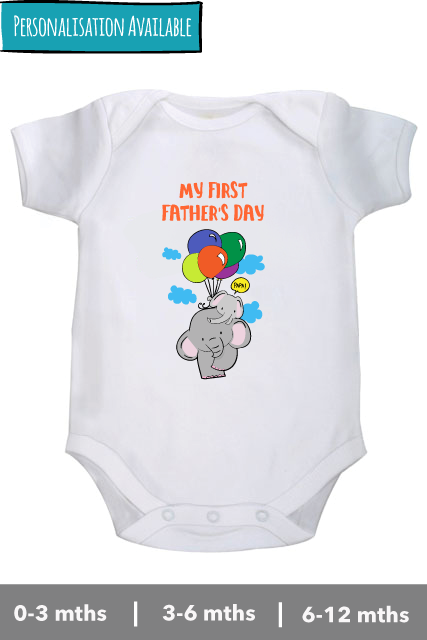 First-fathers-day-white-romper-bodysuit-onesie-personalised-zeezeezoo