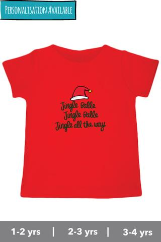 Jingle Balle Jingle Balle Jingle All The Way - Tee