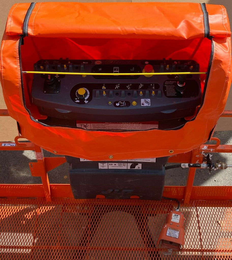 JLG Control Box Cover- New style frame