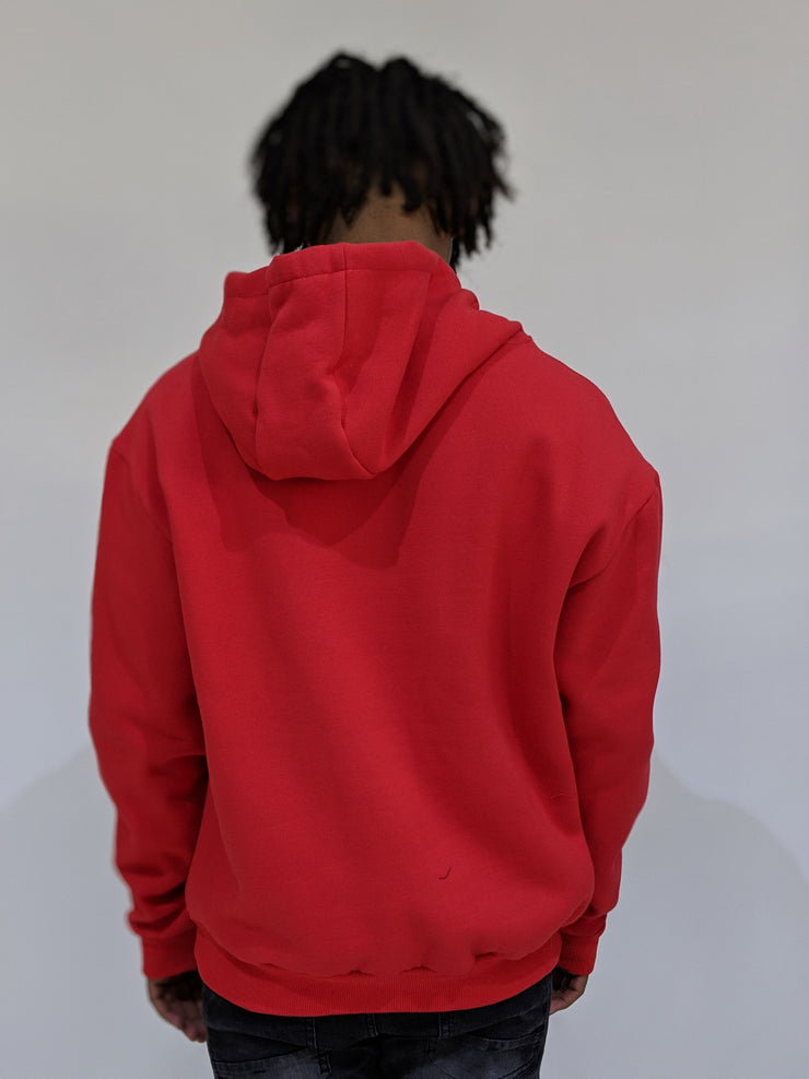Worthy Box Sweater - Red