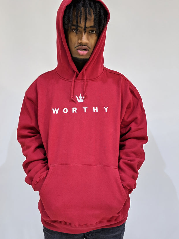 Worthy Classic Sweater - Red