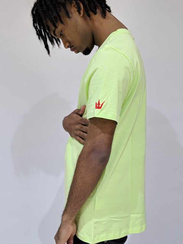 Worthy Box Tee - Lime